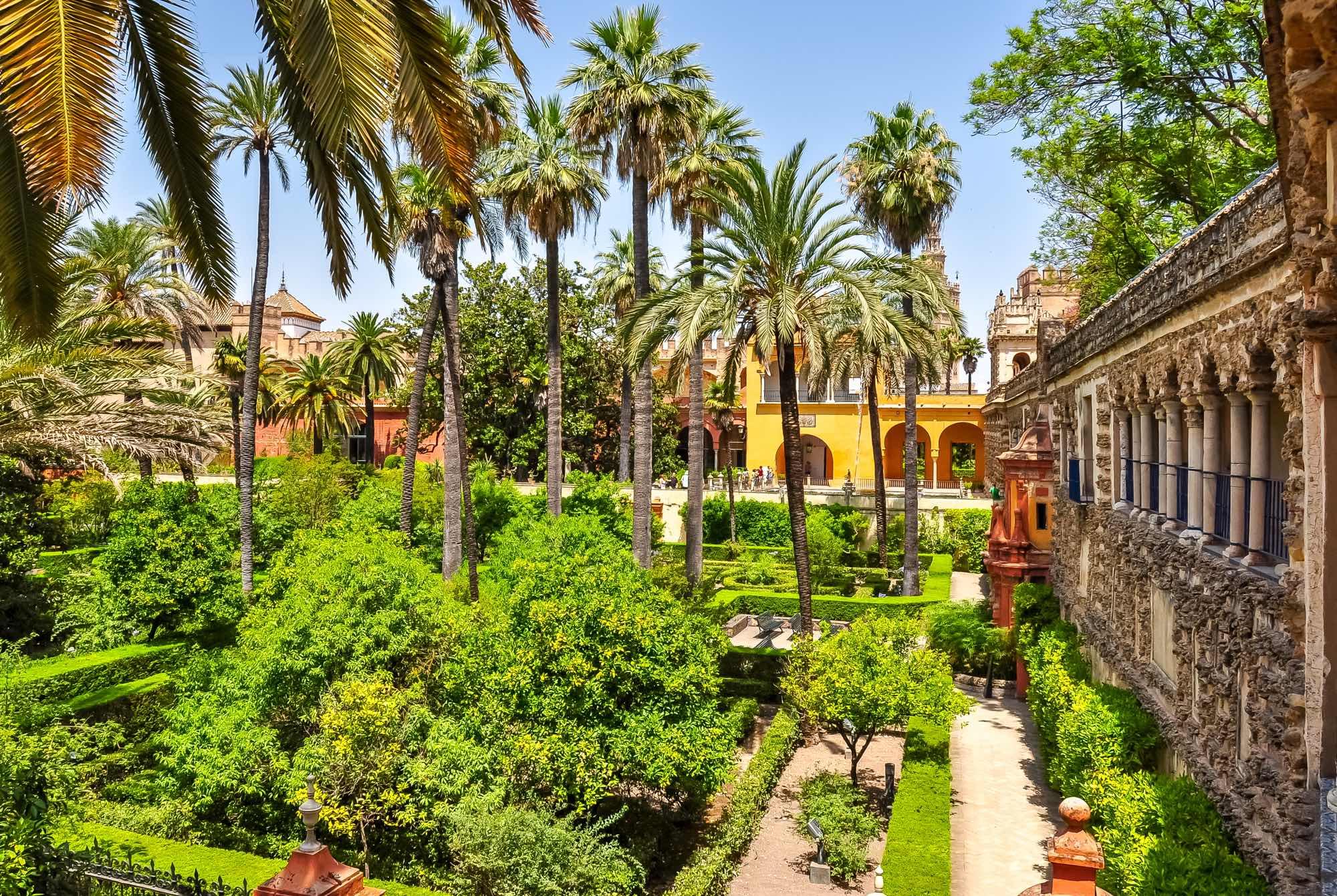 Sevilla Jardines Alcazar